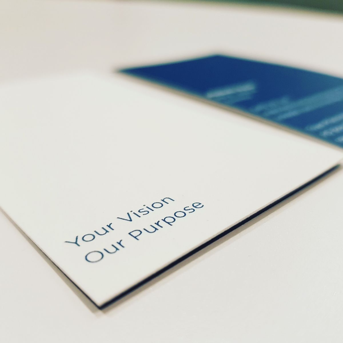 Your Vision Our Purpose Image Bus Card