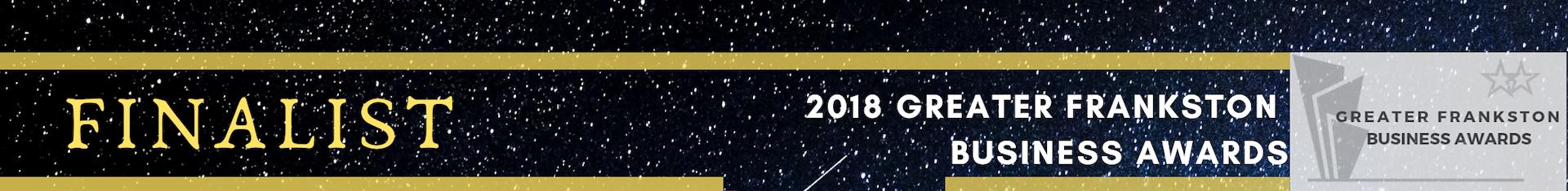 Business Awards Finalist 2018